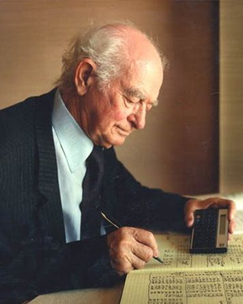 Dr. Linus Pauling, laureat al premiului Nobel