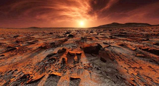 Sus Marte, O Civilizatie Distrusa Prin Atac Nuclear!