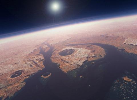 2 16 Marte, O Civilizatie Distrusa Prin Atac Nuclear!